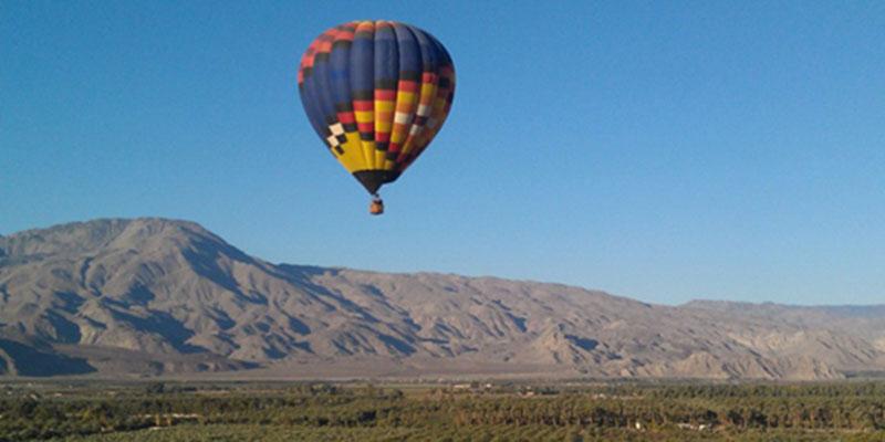 Balloons Above the Desert