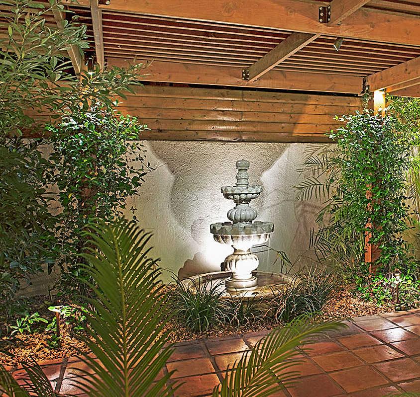 Fountain at The Hacienda at Warm Sands