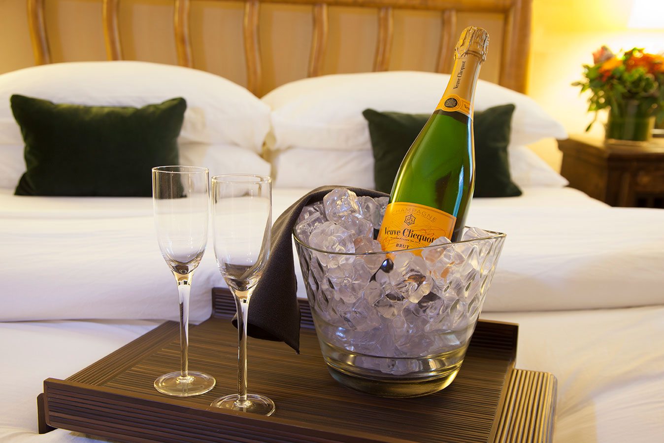 Champagne at The Hacienda in Gay Palm Springs