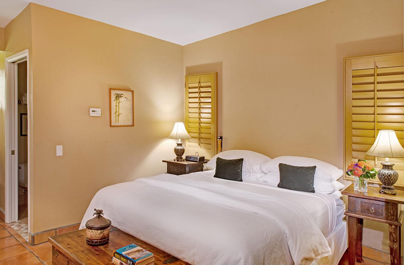 Junior Suite Bedroom at The Hacienda in Gay Palm Springs