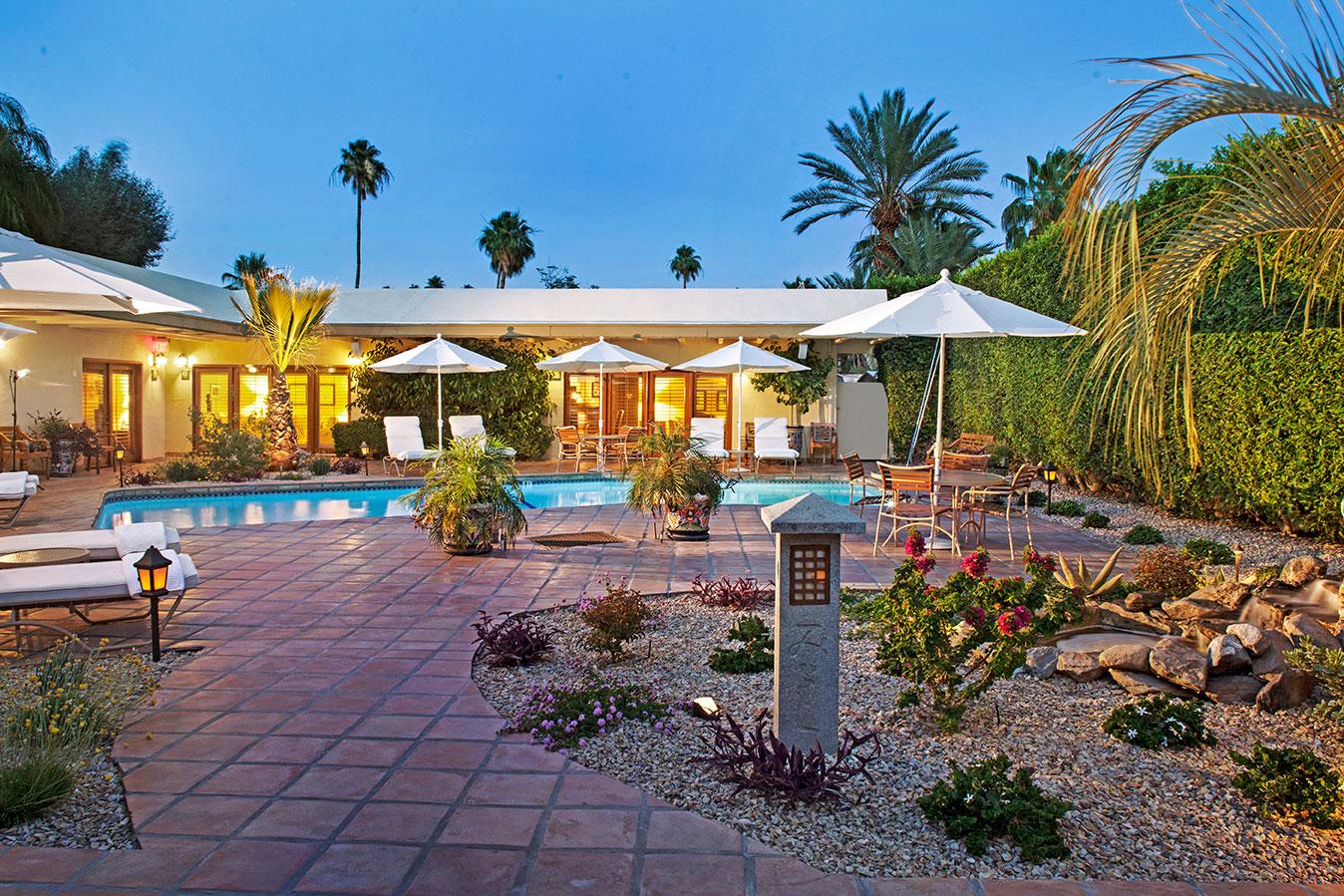 Patio & Pool at The Hacienda at Warm Sands