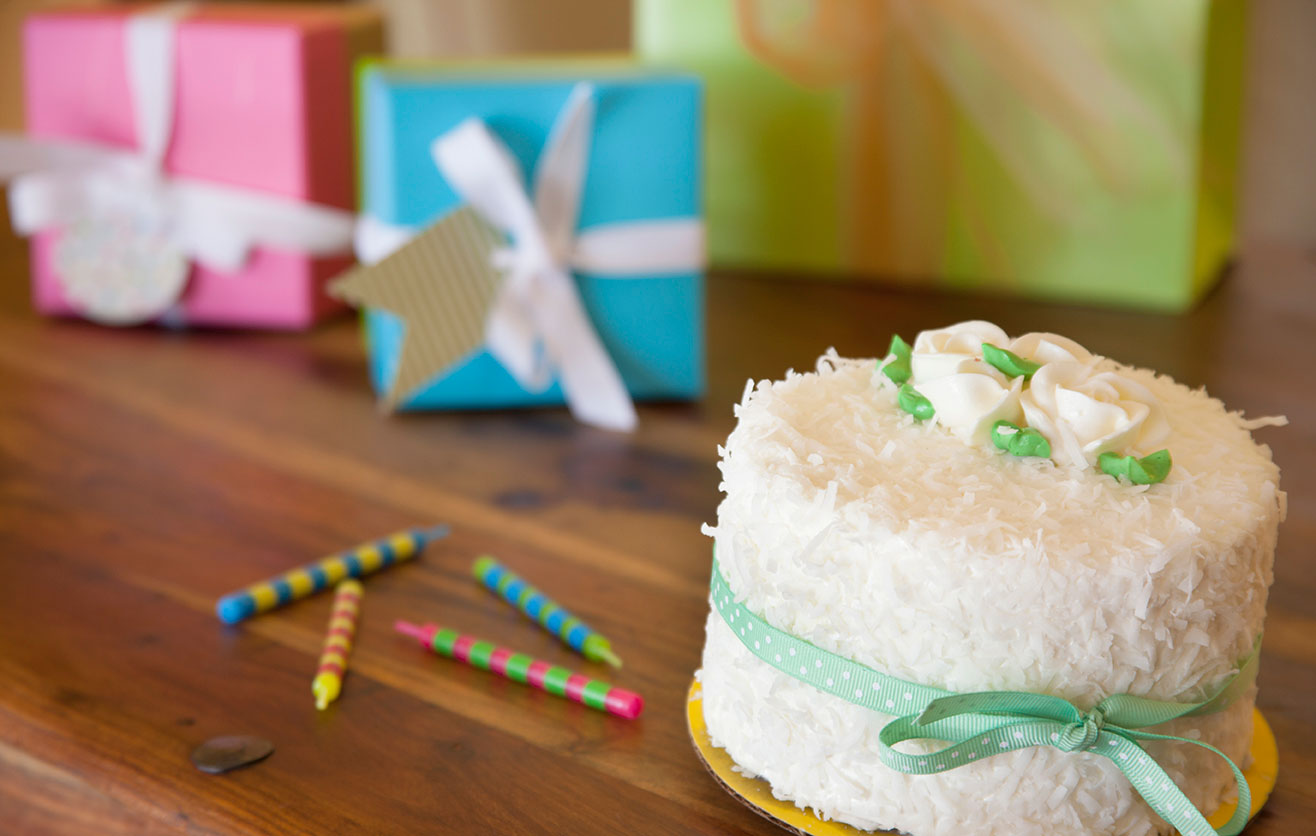 Birthday Cake at The Hacienda in Gay Palm Springs